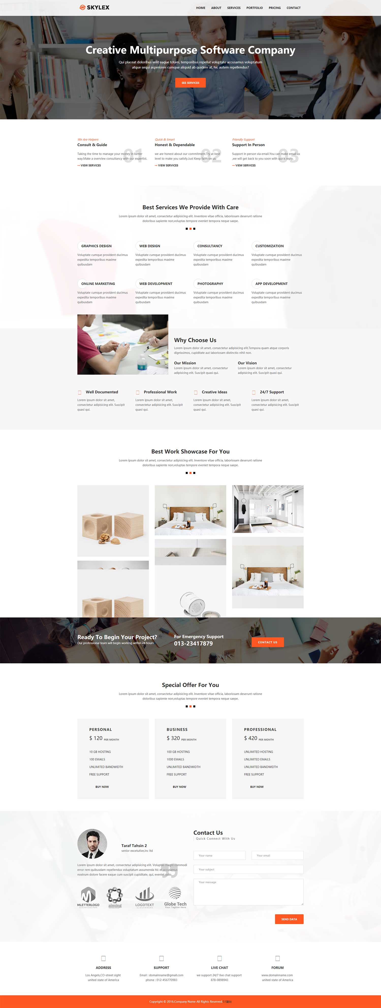 创意个人网站设计模板下载是一款创意家居设计生活网站模板素材