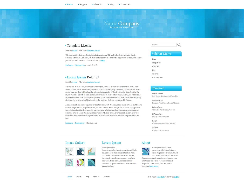 白色干净简洁大气的企业外贸产品介绍网页模板
