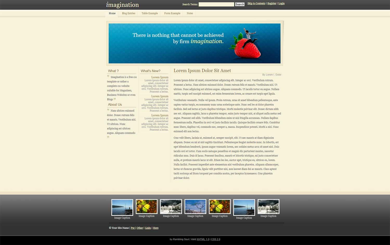淡绿色个人简洁线条博客整站html模板