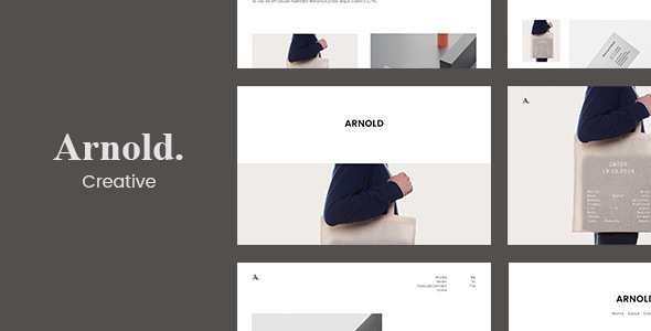 Arnold – 迷你产品展示网站WordPress模板 – v1.7.8