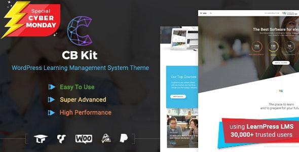 CBKit – 培训课程LMS网站模板WordPress主题 – v3.1.0