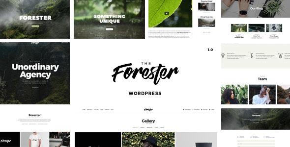 The Forester - 轻型作品展示网站WordPress模板-创客云
