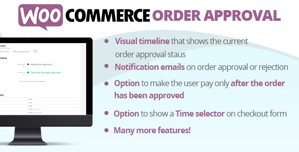WooCommerce Order Approval 订单批量确认拒绝WordPres插件-创客云