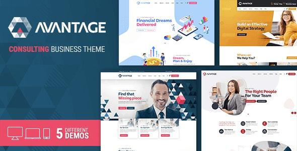 Avantage - 企业公司网站WordPress模板-创客云