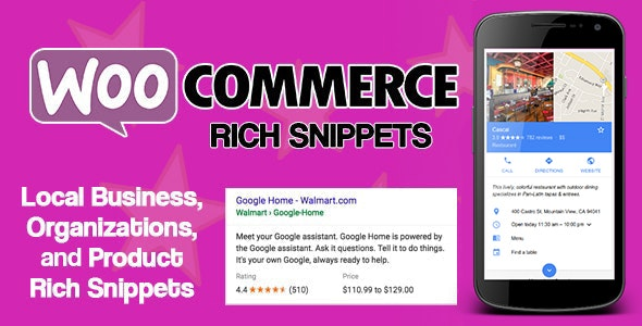 WooCommerce Rich Snippets - SEO搜索引擎优化插件-创客云