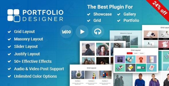Portfolio Designer - 作品展示 WordPress 插件-创客云