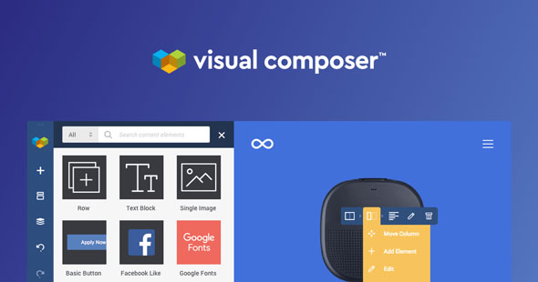 Visual Composer Premium 拖拽式可视化编辑器扩展插件-创客云