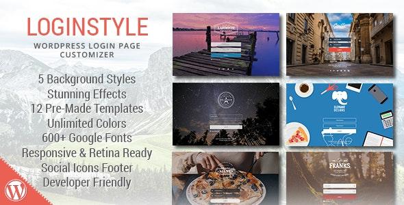 Loginstyle - WordPress后台登陆模板插件-创客云