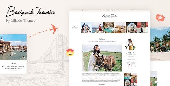 Backpack Traveler - 现代背包客旅行博客WordPress主题-创客云