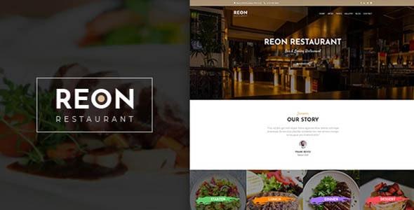 Reon - 餐厅美食网站WordPress主题-创客云