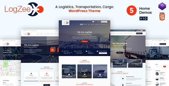 Logzee - 物流运输货运网站WordPress主题-创客云