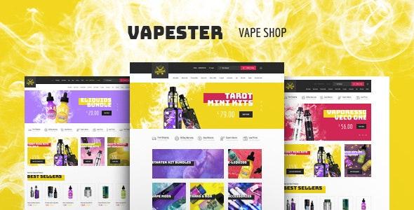 Vapester -创意香烟店电子烟商店Woomerce主题-创客云