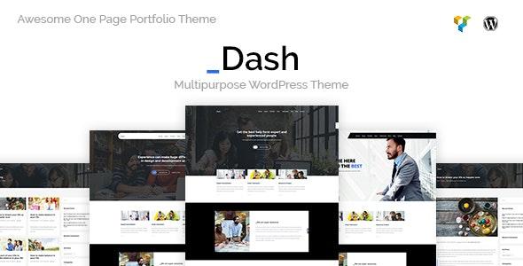 Dash - 企业商务公司网站模板WordPress主题-创客云