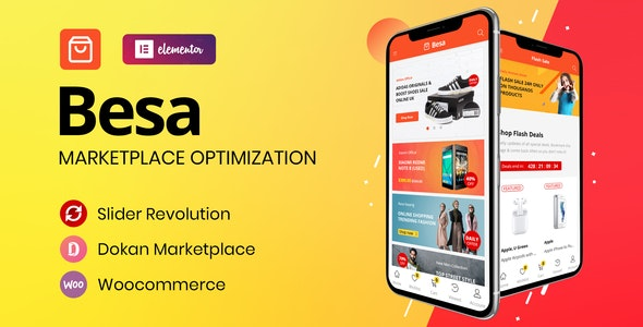 Besa - Elementor 数码产品商城WooCommerce主题-创客云