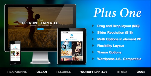 Plus - 单页产品营销WordPress主题-创客云