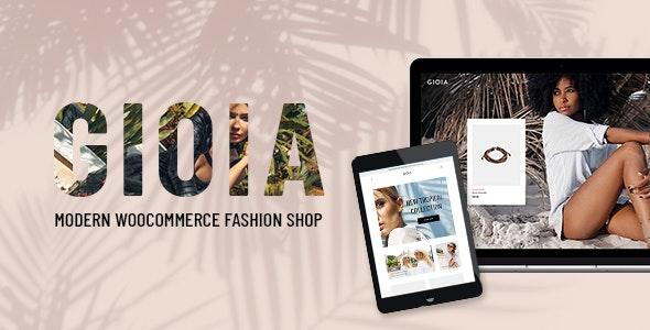 Gioia – 现代时尚服饰WordPress主题