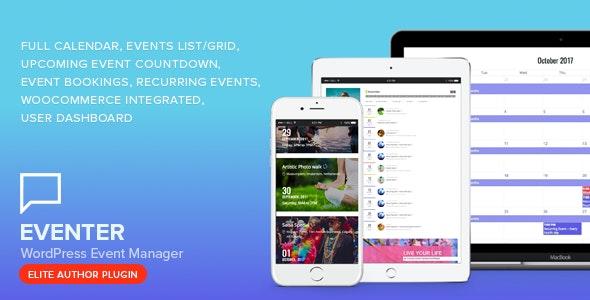 Eventer - 事件活动预约管理WordPress插件-创客云
