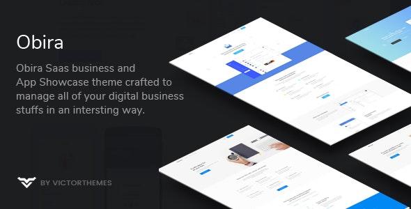 Obira - SaaS商务应用展示WordPress主题-创客云