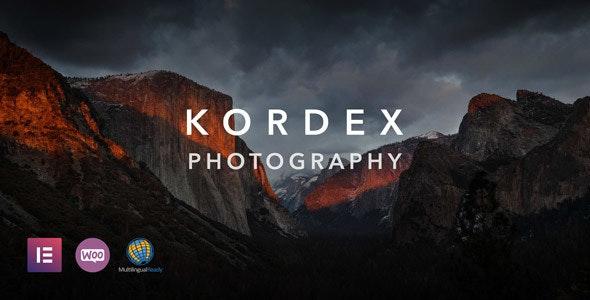 Kordex - 摄影网站模板WordPress主题-创客云