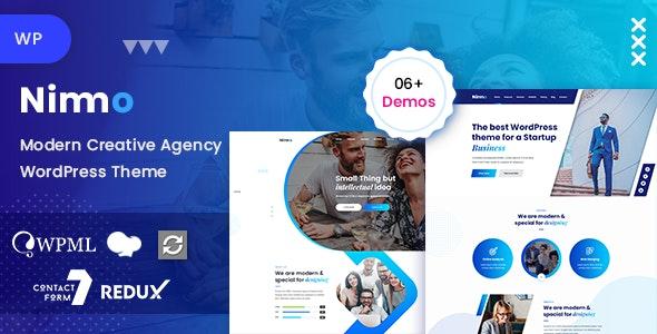 Nimmo - 创意单页WordPress模板-创客云