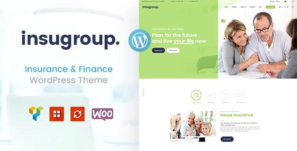 Insugroup - 保险金融机构WordPress主题-创客云