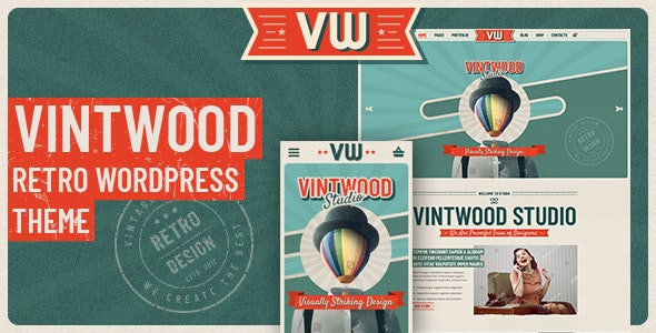 VintWood - 复古手工艺品网站WordPress主题-创客云