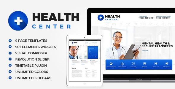 Health Center - 医疗健康诊所WordPress主题-创客云