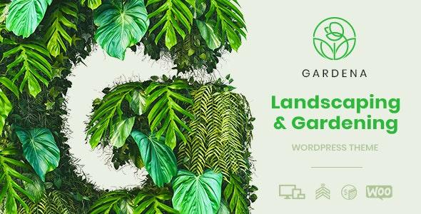 Gardena – 园林绿化环保企业WordPress主题