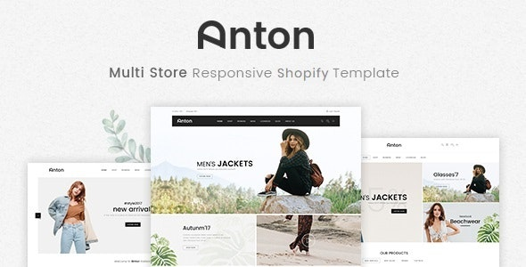 Anton - 响应式在线商店模板Shopify模板-创客云