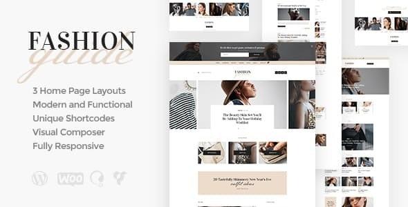 Fashion Guide - 生活杂志博客WordPress主题-创客云