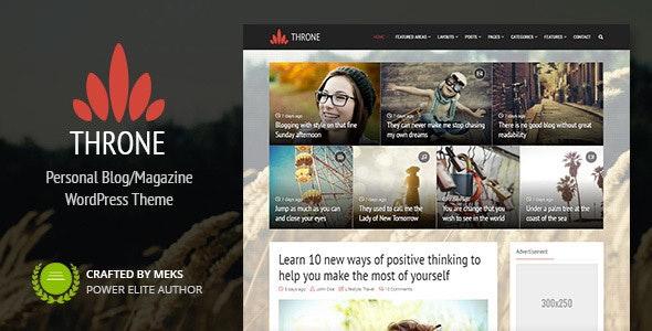 Throne - 专业博客新闻杂志WordPress 主题-创客云