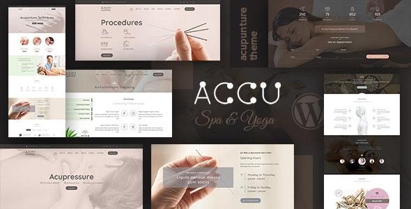 Accu – 医疗保健按摩网站WordPress模板 – v1.8