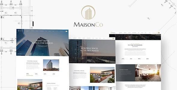MaisonCo - 房地产房屋出租WordPress主题-创客云