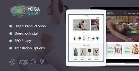 Yoga Shop - 运动服装设备商店wordpress主题-创客云