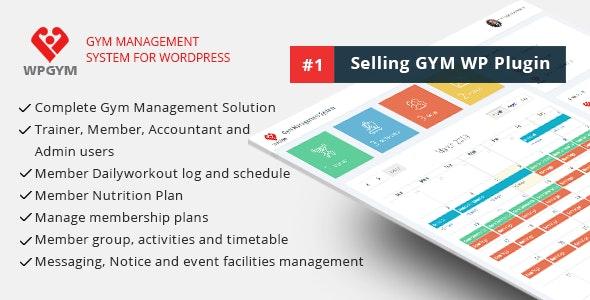 WPGYM - 健身房管理系统WordPress插件-创客云