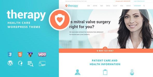 Therapy - 健康医学诊所WordPress主题-创客云