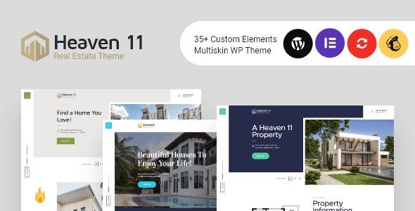 Heaven - 房产公寓不动产网站WordPress主题-创客云
