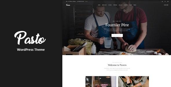 Pasto - 餐厅咖啡厅网站WordPress主题-创客云