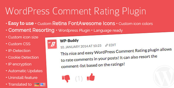 WordPress Comment Rating Plugin 评论嵌套楼层WordPress插件-创客云