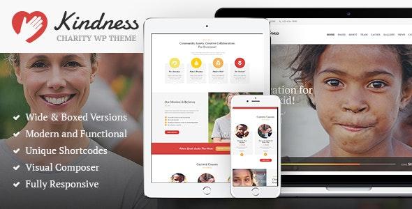 Kindness - 非营利慈善组织WordPress主题-创客云