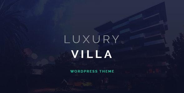 Luxury Villa - 豪华别墅房地产展示WordPress主题-创客云