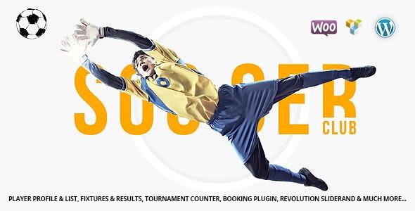 Soccer Club - 足球俱乐部足球队WordPress主题-创客云