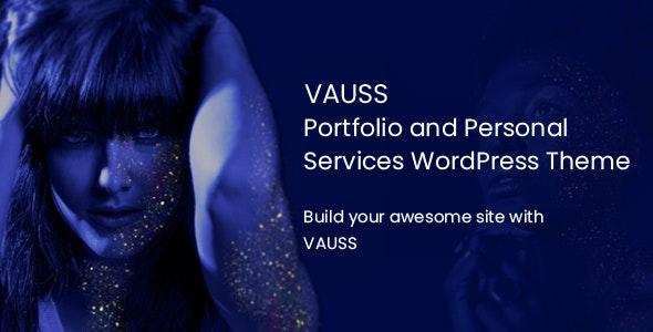 VAUSS - 专业个人作品展示网站WordPress主题-创客云