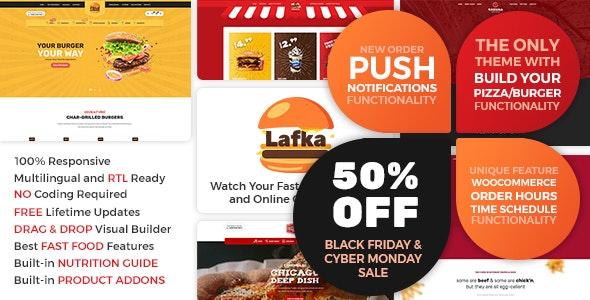 Lafka – 汉堡披萨快餐店WooCommerce主题 – v1.2.8