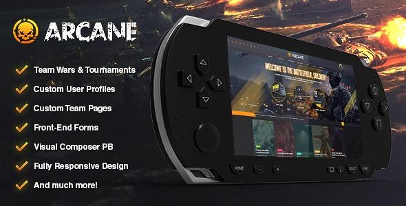 Arcane - 游戏社区WordPress主题-创客云