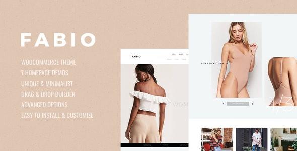 Fabio - 在线电商WooCommerce购物模板-创客云