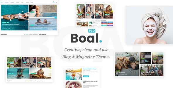 Boal - 新闻杂志网站模板WordPress主题-创客云
