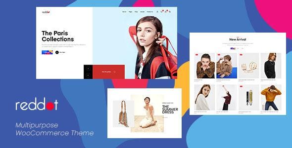 Reddot - 小型现代商店模板WooCommerce主题-创客云