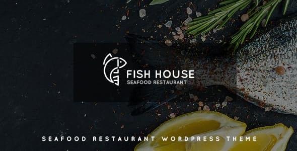 Fish House - 海鲜餐厅咖啡厅酒吧WordPress主题-创客云