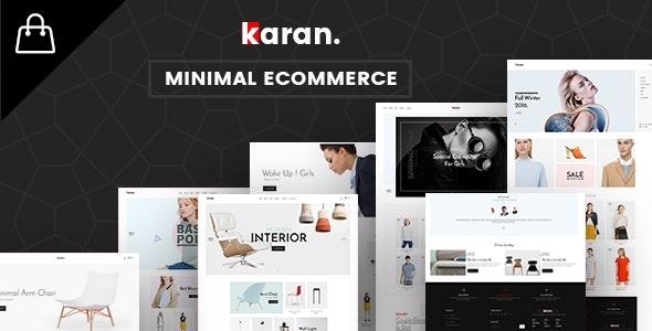 Karan – 迷你时尚服饰商店WordPress主题 – v1.3